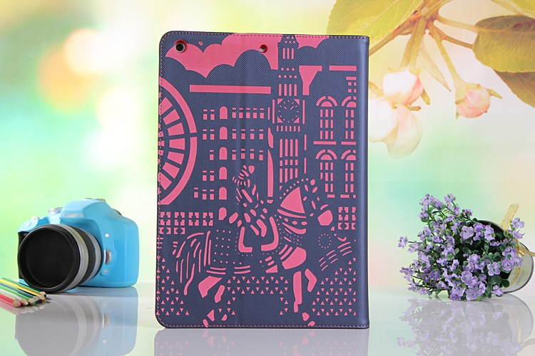 الصورة: Hollow Smart Leather Case for iPad Mini 1 / 2 / 3