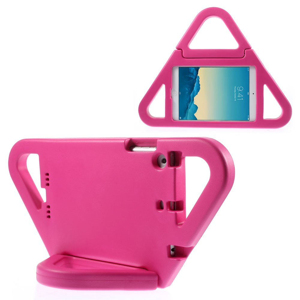 Picture of Triangle Shockproof Kids EVA Foam Stand Case for iPad Mini / Mini 2 / Mini 3 - Rose
