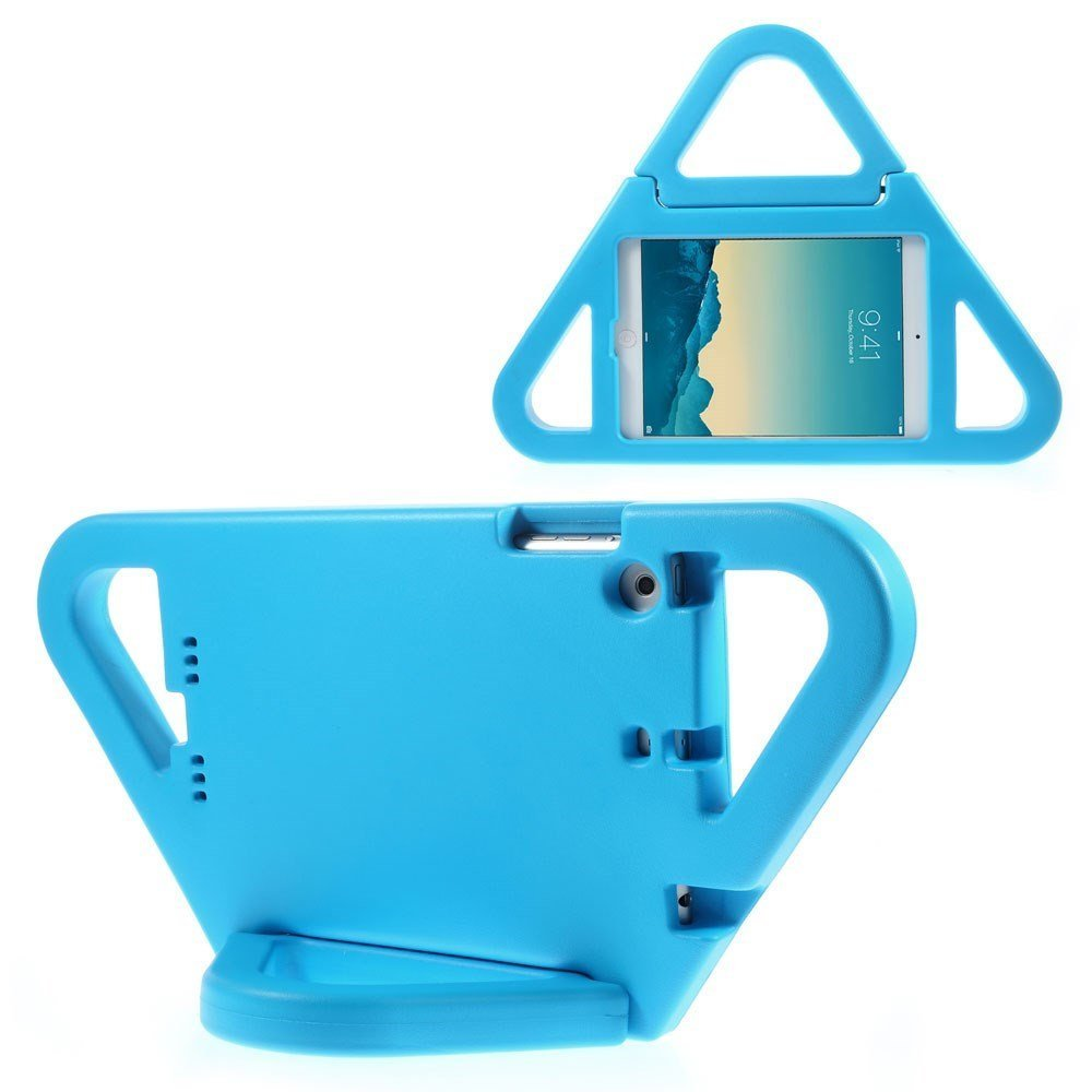 الصورة:  9 Triangle Shockproof Kids EVA Foam Stand Shell for iPad Mini Blue