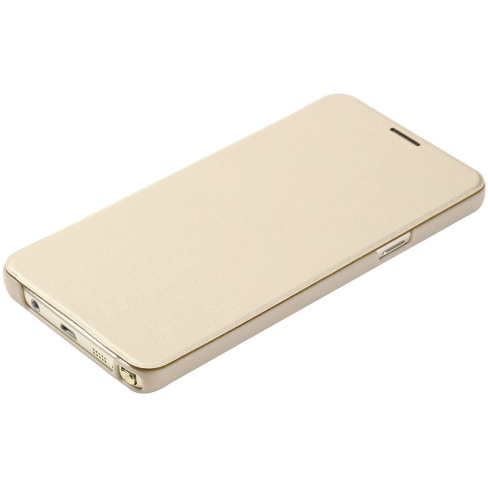 ROCK Flip Slim Case for Samsung Galaxy Note 5 Gold