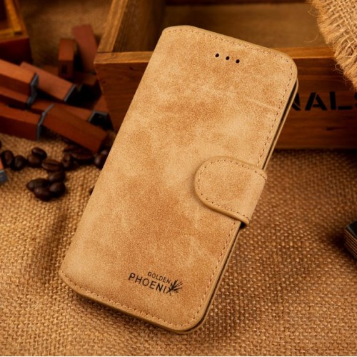 الصورة: Phoenix Leather Case for iPhone 6s / 6 4.7-inch - Khaki