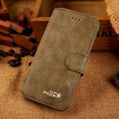 الصورة: Phoenix Leather Case for iPhone 6s / 6 4.7-inch - Green