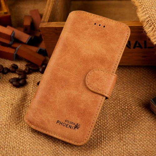 الصورة: Phoenix Leather Case for iPhone 6s / 6 4.7-inch - Brown