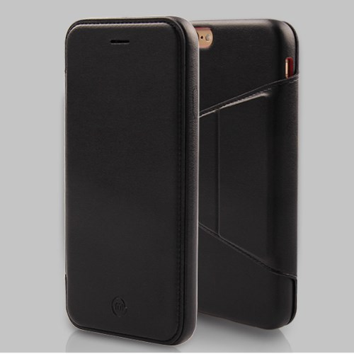 الصورة: MOSHUO PU Leather Phone Case for iPhone 6s Plus / 6 Plus Plus 5.5 - Black