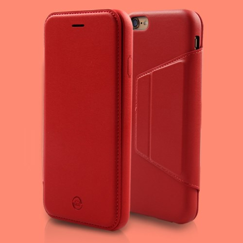 الصورة: MOSHUO PU Leather Phone Case for iPhone 6s Plus / 6 Plus Plus 5.5 - Red