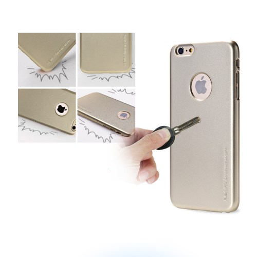 الصورة: REMAX Hard PC Case for iPhone 6s / 6 4.7 inch - Gold