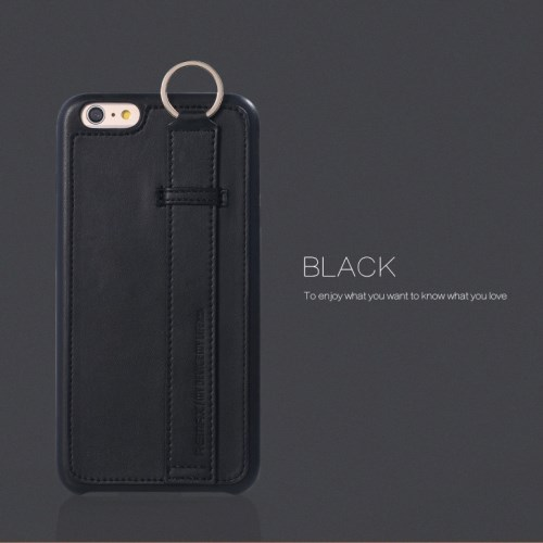 الصورة: REMAX Chuangxiang with Ring Buckle for iPhone 6s 6 4.7 inch - Black