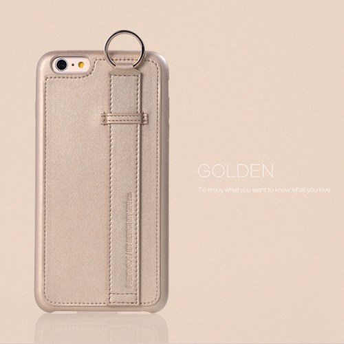 الصورة: REMAX Chuangxiang with Ring Buckle for iPhone 6s 6 Plus 5.5 inch - Gold