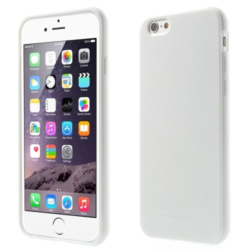 Picture of Solid Color Glossy TPU Gel Case for iphone 6 / 6s - White