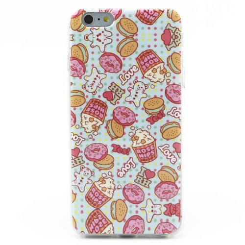 Picture of ose Hips & Doughnuts TPU Gel Case for iPhone 6 Plus / 6s Plus
