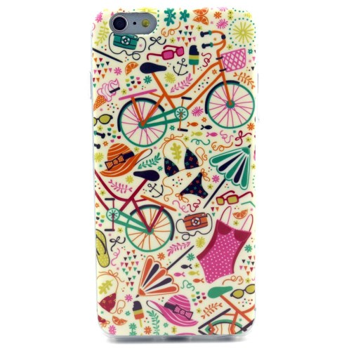 الصورة: Bikini & Bicycles TPU Shell Case for iPhone 6 Plus / 6s Plus