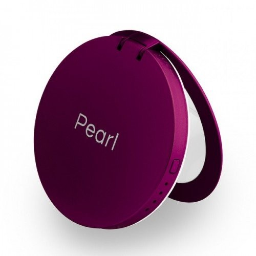 الصورة: PEARL COMPACT MIRROR+USB 3000MAH PURPLE